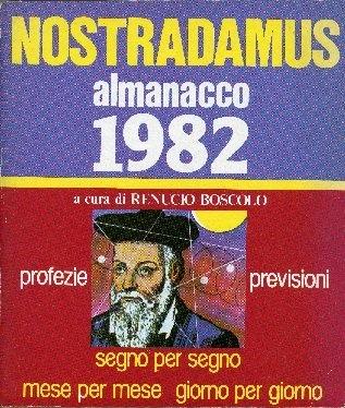 Nostradamus almanacco ...