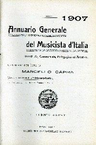 Annuario generale del musicista d'Italia : industriale, commerciale, pedagogico ed artistico