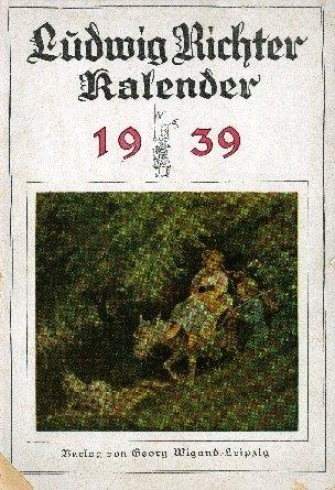 Ludwig Richter Kalender; Almanach de Gotha. -
