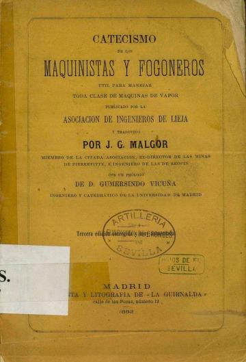Catecismo de los maquinistas y fogoneros