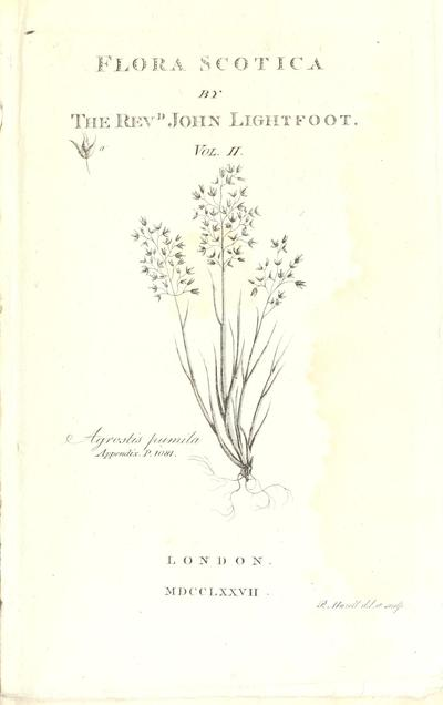 Flora scotica: or, A systematic arrangement, in the Linnæan method, of the native plants of Scotland and the Hebrides.