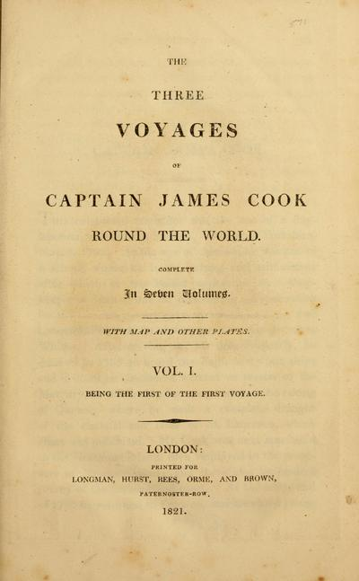 The three voyages of Captain James Cook round the world ...