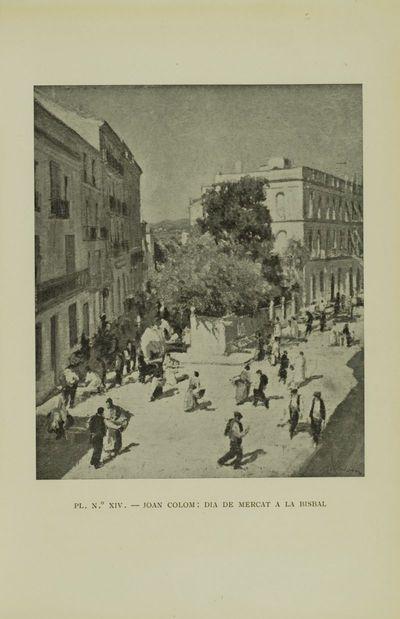 Dia de mercat a la Bisbal