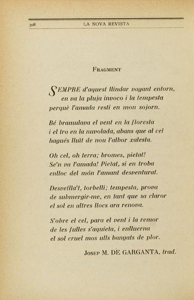 Fragment [Poemes de Leopardi]