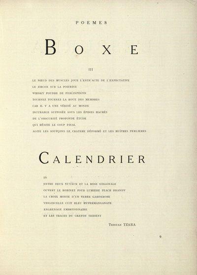 Boxe. III