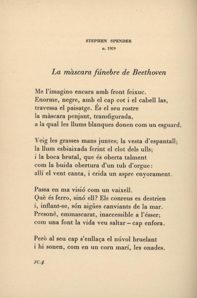 La màscara fúnebre de Beethoven