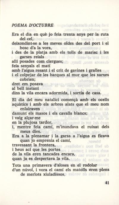 Poema d'octubre