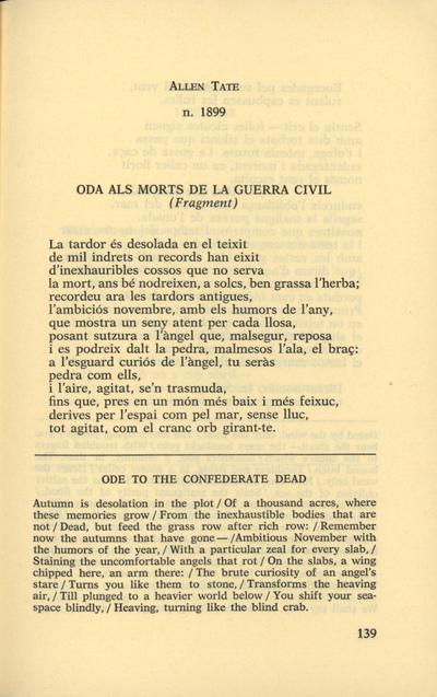 Oda als morts de la guerra civil (fragment)
