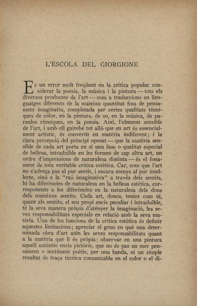 L'escola del Giorgione