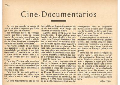 Cine-documentarios