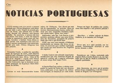 Notícias portuguesas