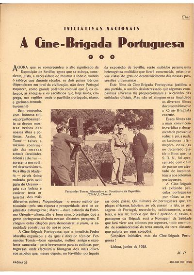 A Cine-brigada portuguesa