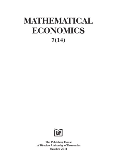 The primer on arbitrage conceptions in economics: their logistics, roots and some formal models (historical and bibliographical notes). Mathematical Economics, 2011, Nr 7 (14), s. 173-197