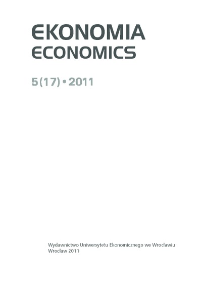 Rachunkowość finansowa a ekologia. Ekonomia = Economics, 2011, Nr 5 (17), s. 391-404
