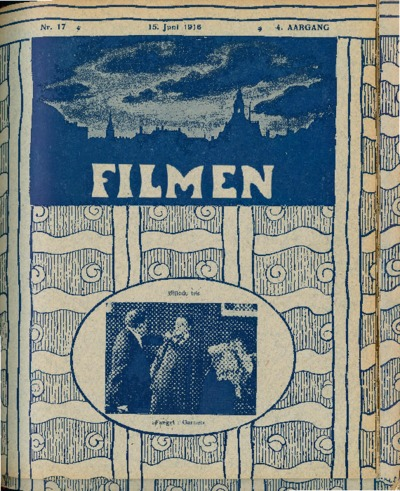 Image from object titled Filmen Nr. 17 - 4. AARGANG 1916 (151-158)