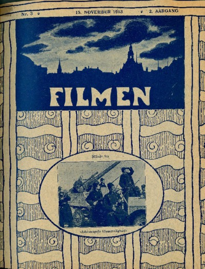 Image from object titled Filmen Nr. 3 - 2. AARGANG 1913 (33 - 48)