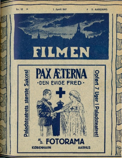 Image from object titled Filmen Nr. 12 - 5. AARGANG 1917 (133-140)