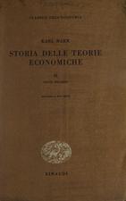 Storia delle teorie economiche vol. II David Ricardo