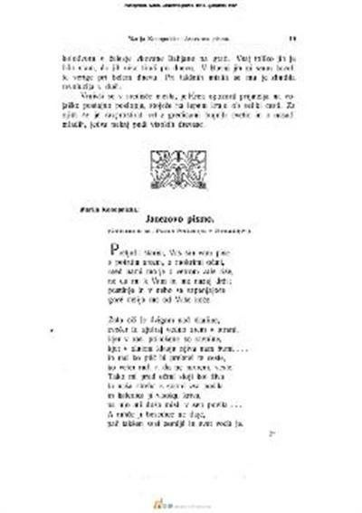 Janezovo pismo