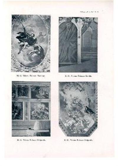 Prizori z antične zgodovine; Videm, Palazzo Belgrado