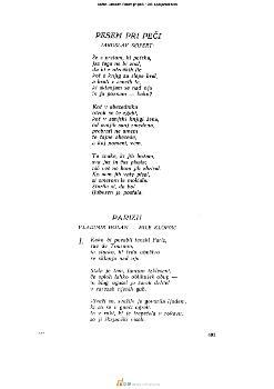 Pesem pri peči