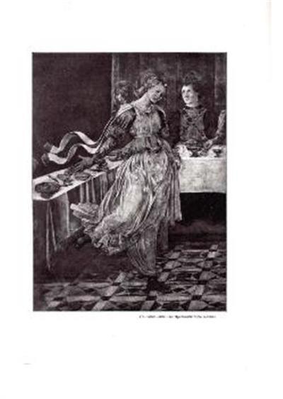 Ples Herodijadine hčere; Detajl