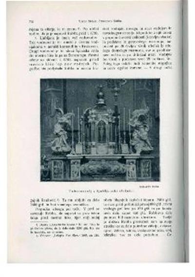 Tabernakelj v Ljubljanski stolnici