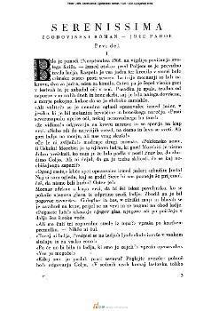 Serenissma; Zgodovinski roman