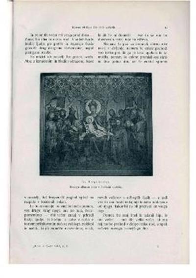 Sv. Trije kralji; Srednja oltarna slika v kolinski stolnici