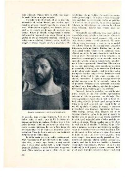 Glava Kristusa; S slike Sv. Peter plačuje davek