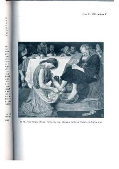 Umivanje nog; London, National Gallery of British Art