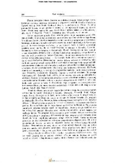Prava hrvatska misao; Smotra za politiku i knjigu. lzdavatelj i odgovorni urednik Dinko Politeo. Godina I. Broj 1. I. siečnja 1903. U Zagrebu. Tisak C. Albrechta (Jos. Witasek)