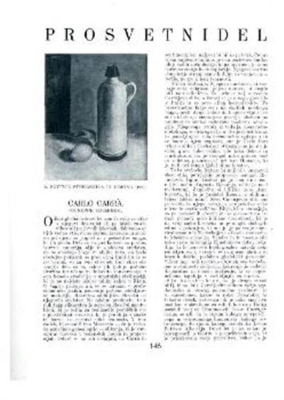Steklenica in limona; 1920
