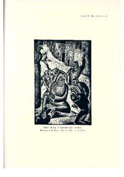 Zasmehovanje učenca; Ilustracija k dr. Resovi izdaji Fiorettov sv. Frančiška