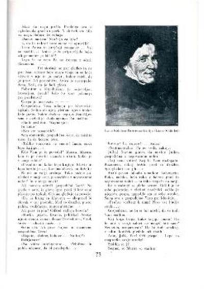 Portretna študija; Moška glava. (Konec 80-tih let.)