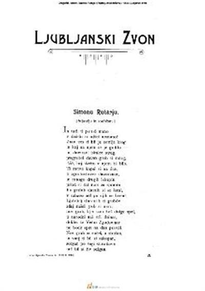Simonu Rutarju; (Prijatelju in soobčanu.)