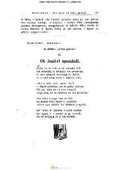 Iz zbirke: »Levia gravia«
