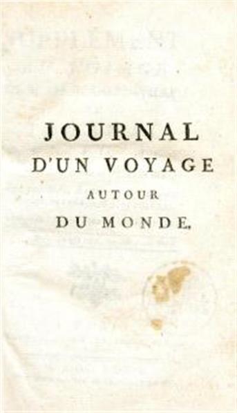 Supplément au voyage de L. Banks Ant. comte de Bougainville; ou journal d'un voyage autour du monde