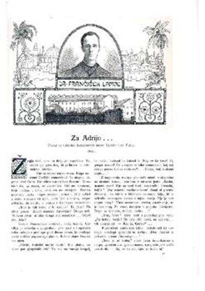 Dr. Frančišek Lampe