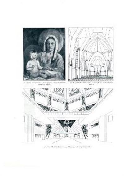 Osnutek za notranjščino cerkve