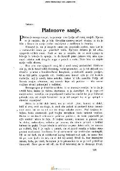 Platonove sanje
