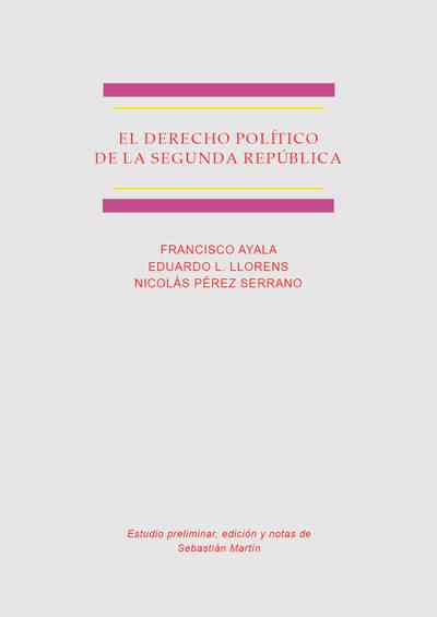 El derecho político de la Segunda República