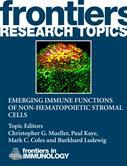 Emerging immune functions of non-hematopoietic stromal cells