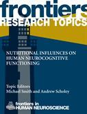 Nutritional influences on human neurocognitive functioning