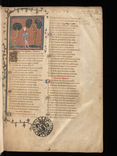 Bern, Burgerbibliothek, Cod. 218 : Guillaume de Machaut, Oeuvres