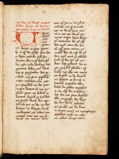 00169942 St. Gallen, Stiftsbibliothek, Cod. Sang. 1066 : German Sermons (Meister  Eckhart, Johannes Tauler, Nikolaus von Straßburg et al.) | Mester Eckhart