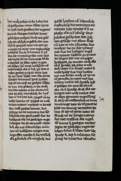 49a8730c Einsiedeln, Stiftsbibliothek, Codex 278(1040) : Mystici sermones Deutsch | Mester  Eckhart