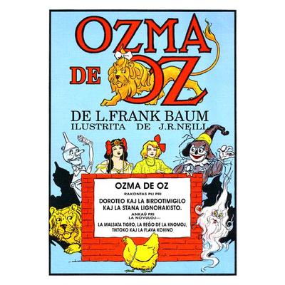 Ozma de Oz / de L. Frank Baum ; ilustrita de John R. Neill ; tradukita de Donald Broadribb