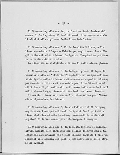 Image from object titled Notizia tratta dal Notiziario della Guardia Nazionale Repubblicana del giorno 17-06-1944