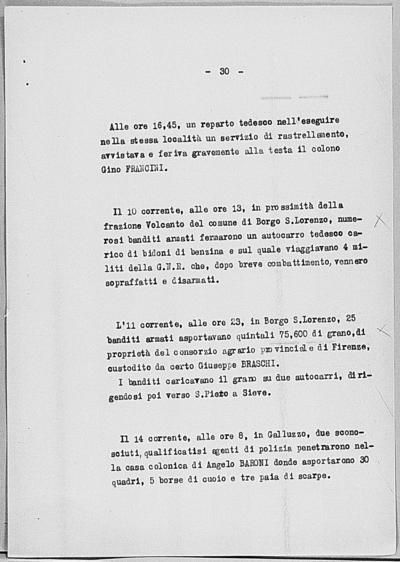 Image from object titled Notizia tratta dal Notiziario della Guardia Nazionale Repubblicana del giorno 23-06-1944